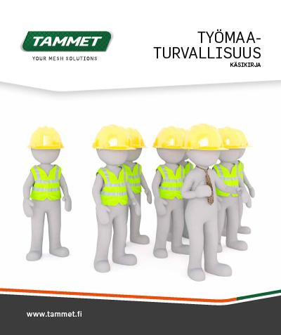 työmaaturvallisuus käsikirja pdf